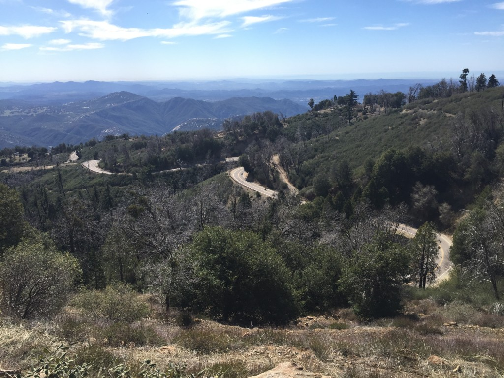 Looking Down from Palomar Mountain