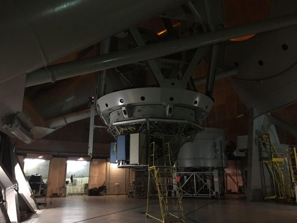 Palomar Mountain Observatory - inside