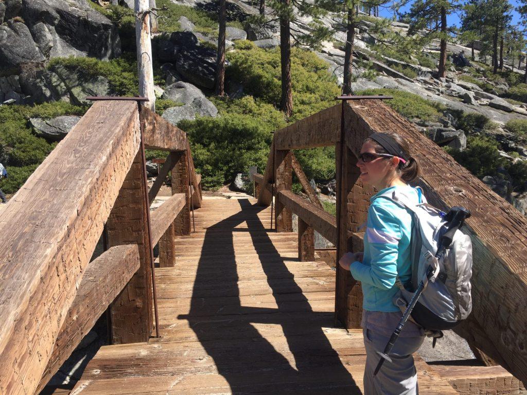 Bridge across Yosemite Creek