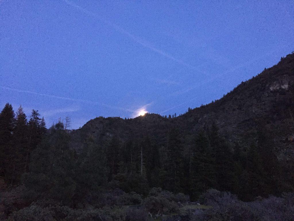 Moon rise!