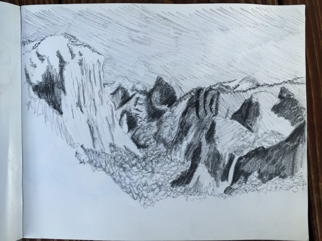 Yosemite Valley from Inspiration Point, Yosemite NP